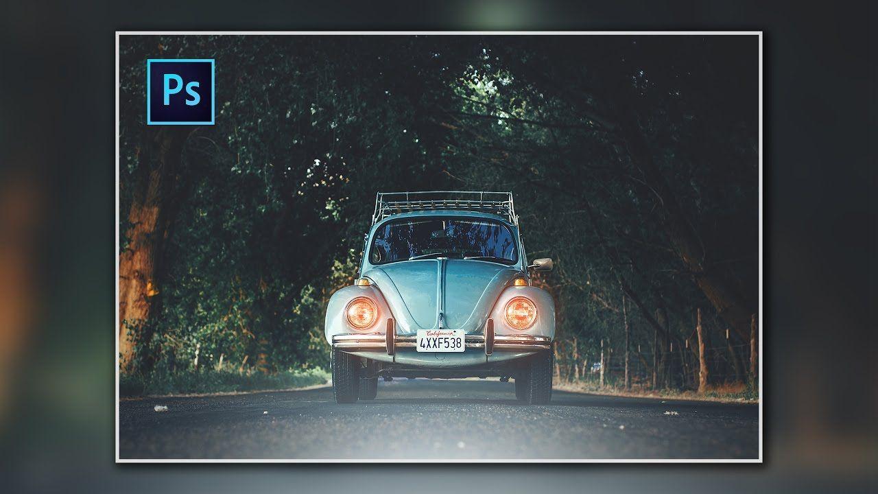 Photoshop Cc Tutorial Vintage Effect Car Photoshop Photo Effects Vintage Photos