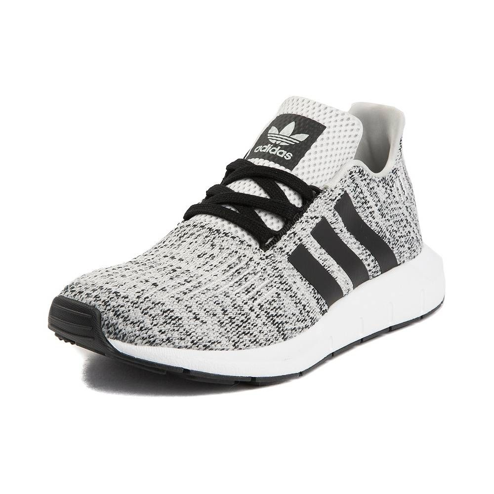 Tween Adidas Swift Run Athletic Shoe Gray Black 1436430 Tween Shoes Slip On Tennis Shoes Adidas Shoes Women