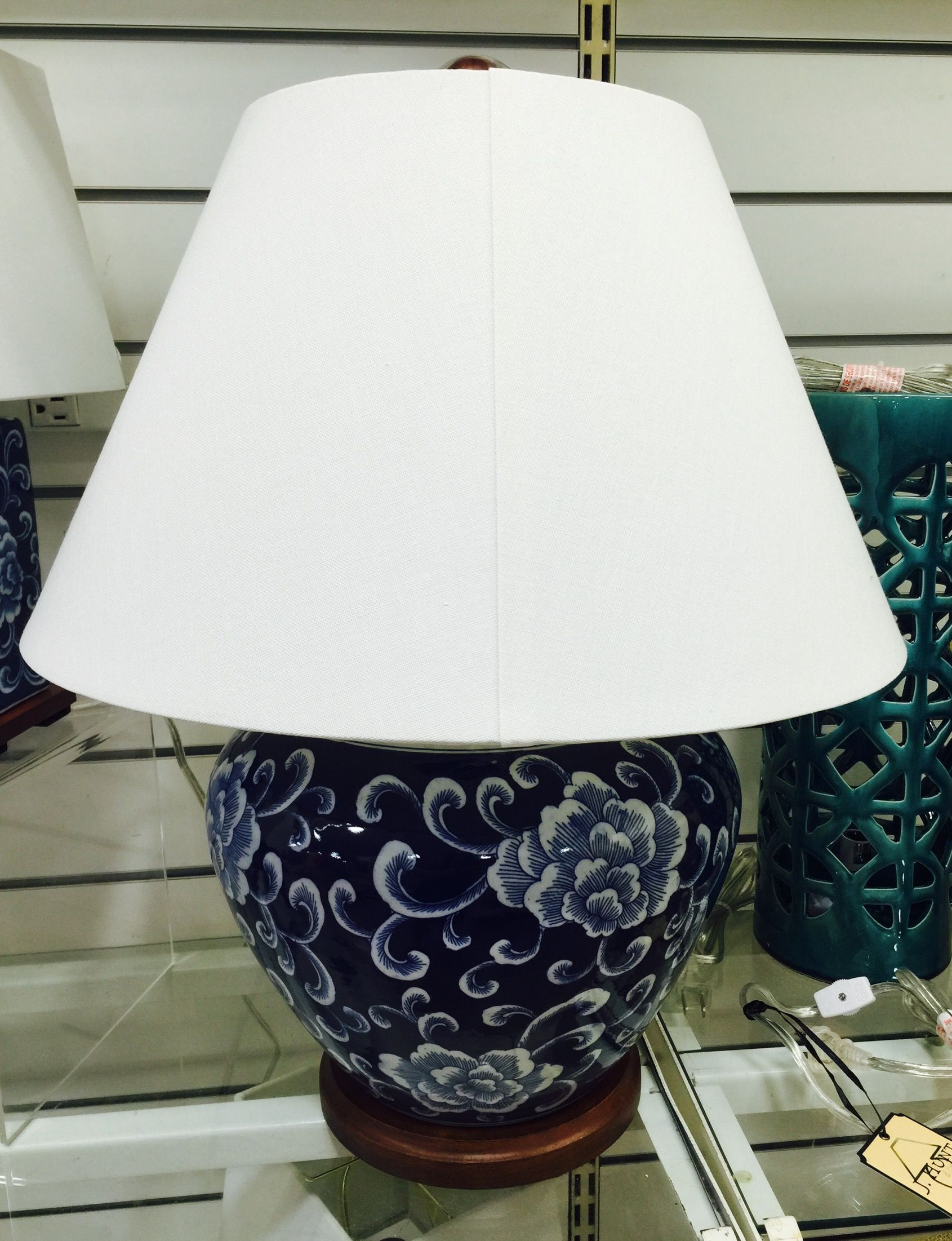 Lauren ralph lauren blue and white floral ceramic table lamp 130 lauren ralph lauren blue and white floral ceramic table lamp 130 at homegoods august 2016 geotapseo Image collections