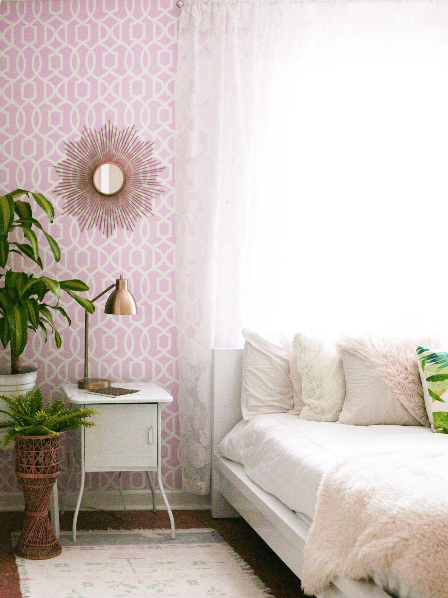 Best Our Bedroom Progress Wallpops Collab Bedroom Home 400 x 300