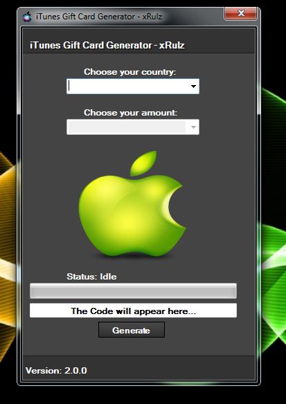iTunes Gift Card Generator   Other Hacks   Pinterest   Itunes gift ...
