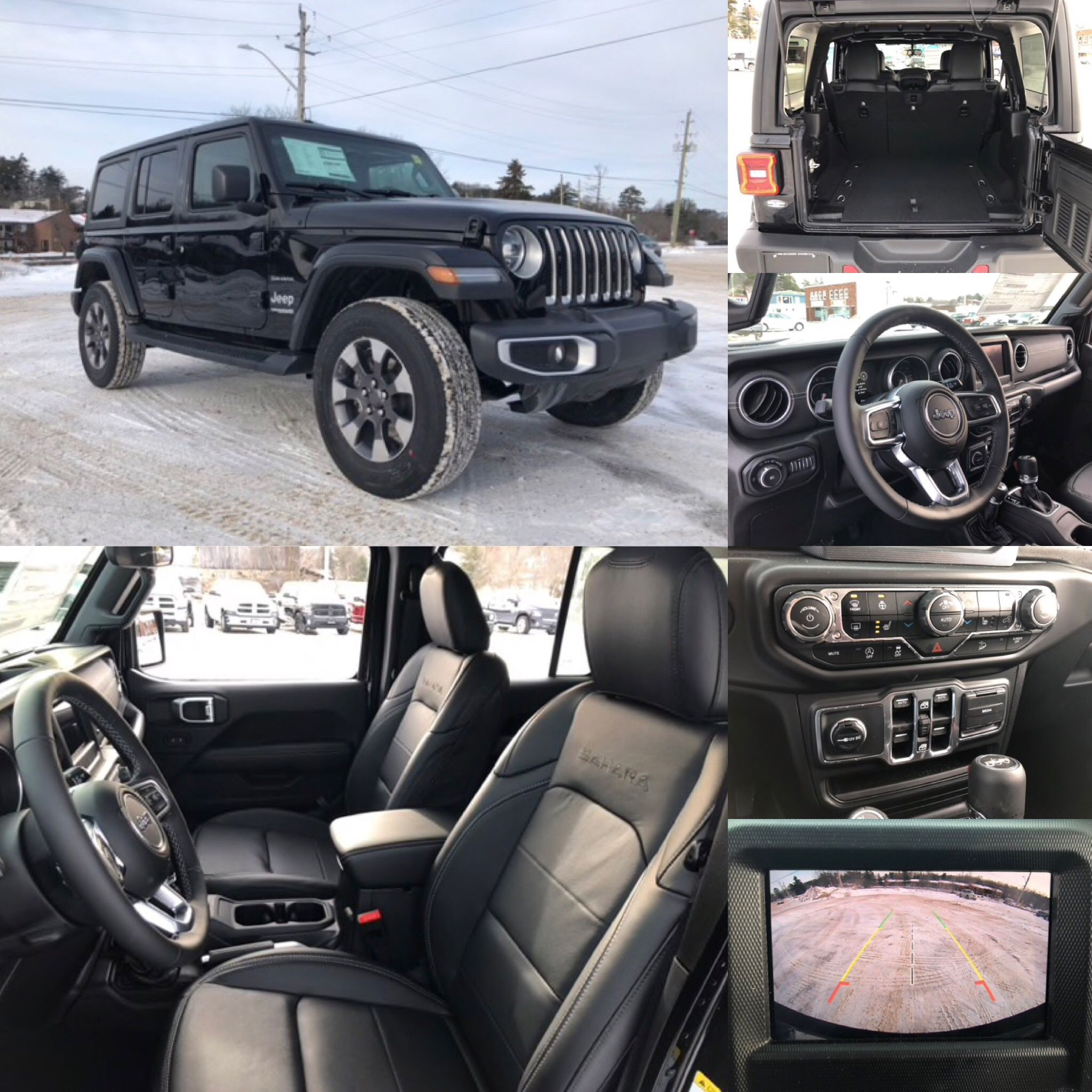 2018 Jeep All New Wrangler Unlimited Sahara 4x4 Leather Htd