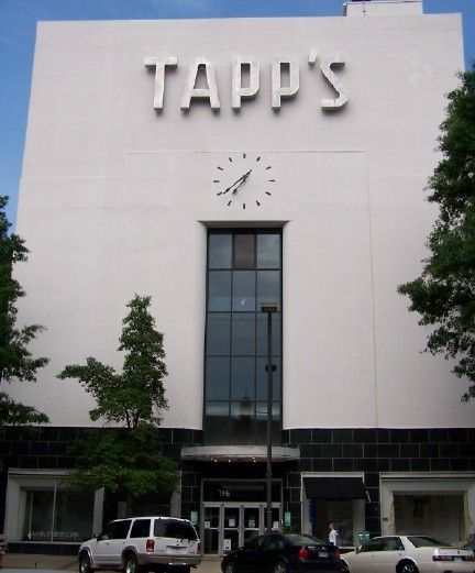 Front Entrance To The Tapps Arts Center