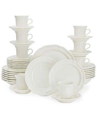 Mikasa French Countryside 40 Pc Dinnerware Set Service For 8 Reviews Fine China Macy S In 2020 Dinnerware Set Mikasa French Countryside Dinnerware