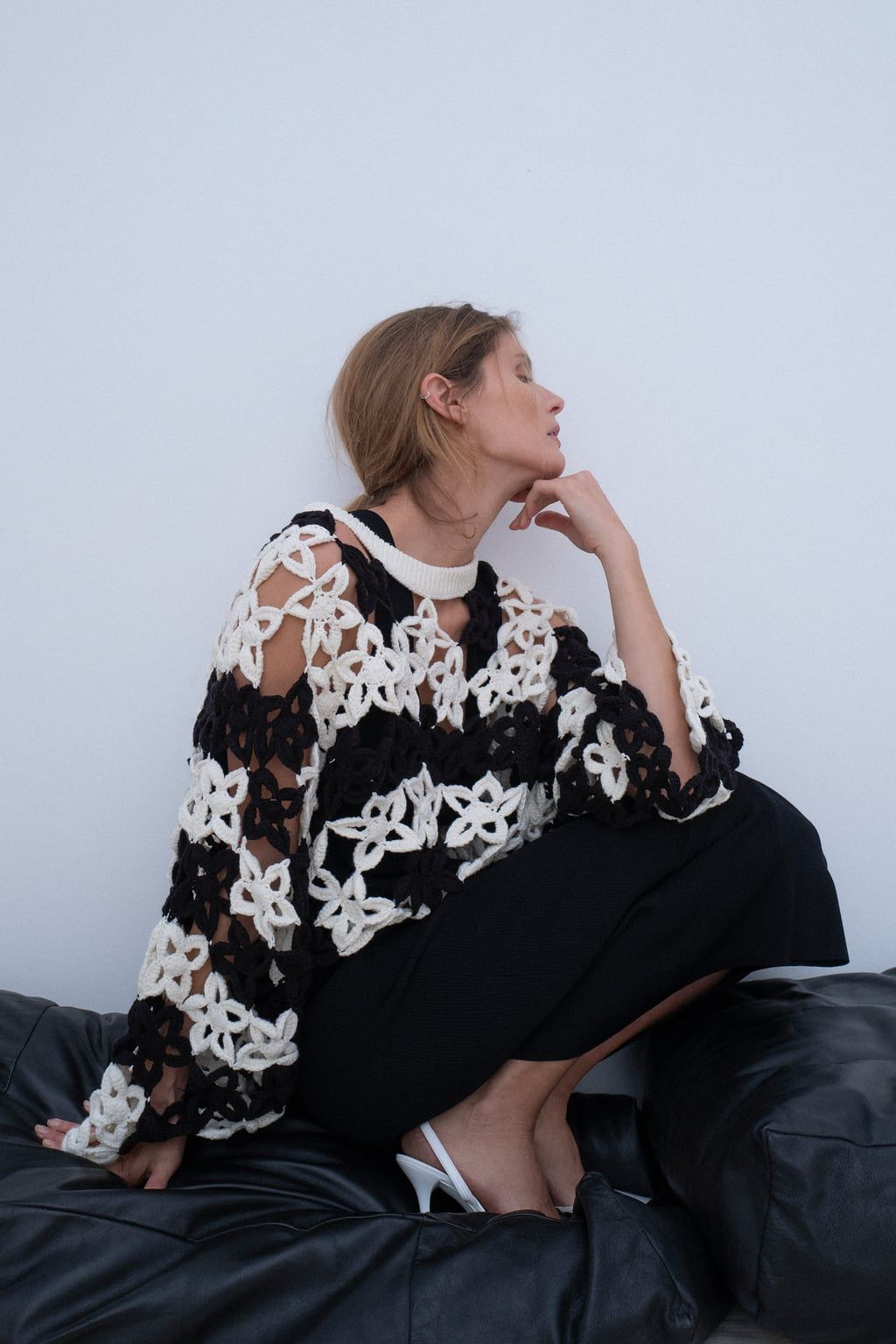 4e7a0da7c6d Limited edition crocheted floral sweater | A Look I Like in 2019 ...