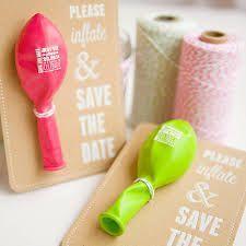 Wedding Save the Date Balloon