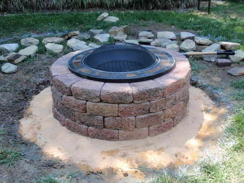 Outdoor fire pit stone kits ideas propane gas diy glorema outdoor fire pit stone kits ideas propane gas diy solutioingenieria Image collections