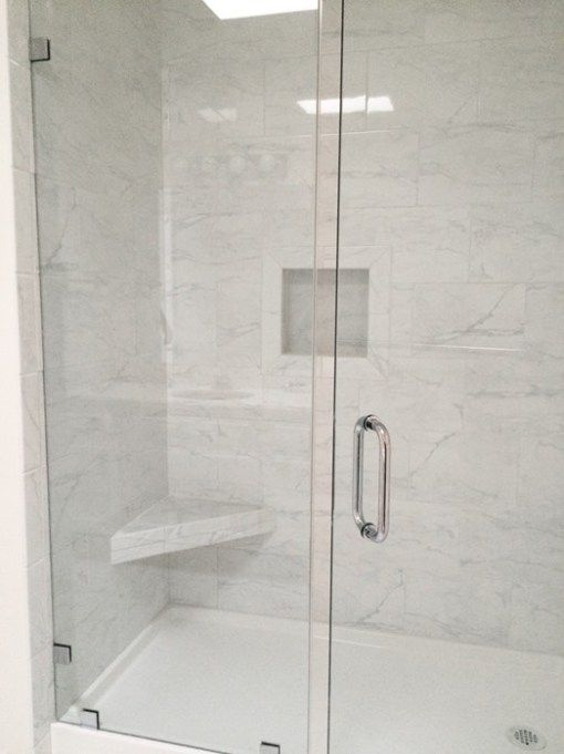 Grandma S Walk In Shower Frameless Shower Doors Tile Walk In