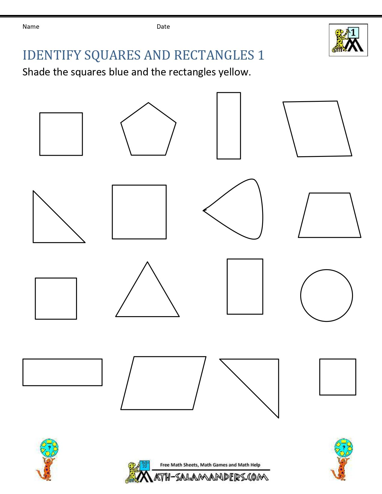 Best 1st Grade Math Worksheet