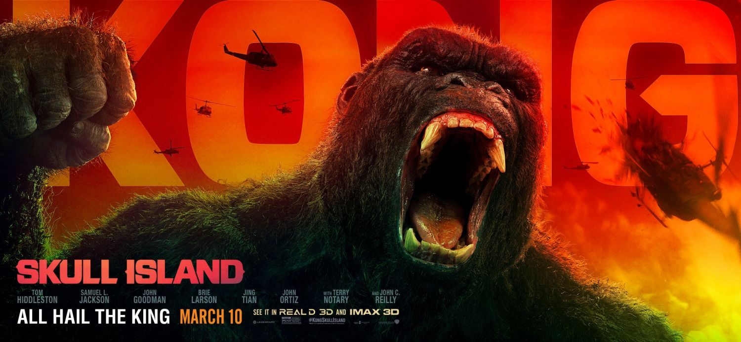 Return To The Main Poster Page For Kong Skull Island 6 Of 6 Kong Skull Island Movies Skull Island Movie Skull Island