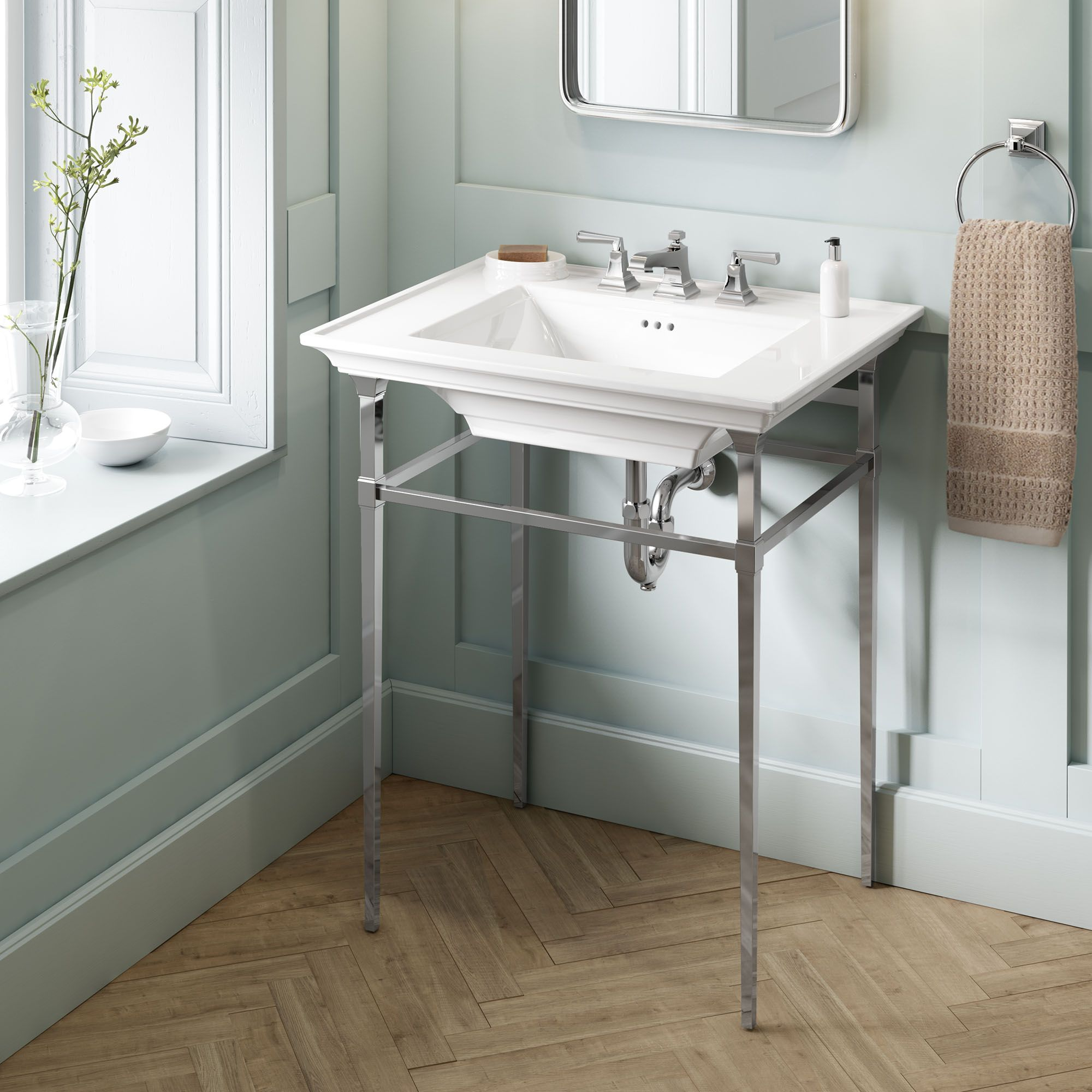 Town Square S Console Table Sink 1055