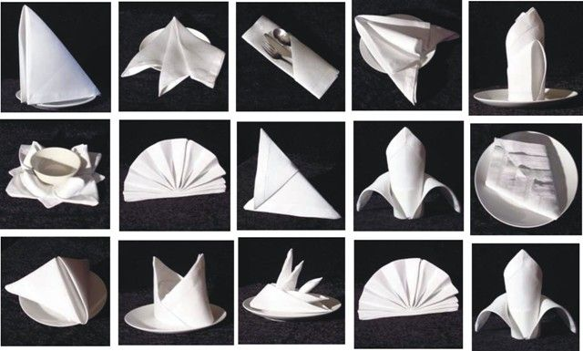 Wedding Napkin Folding Ideas Google Search Wedding Napkin Folding Wedding Napkins Napkins