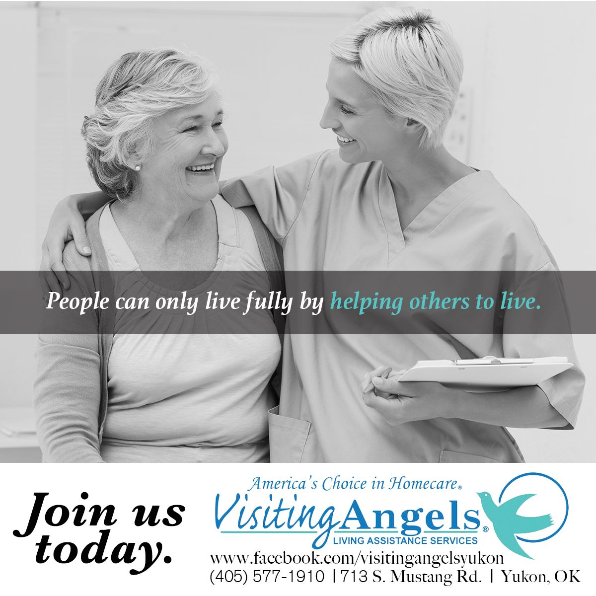 homehealth careers visitingangels yukon oklahoma www