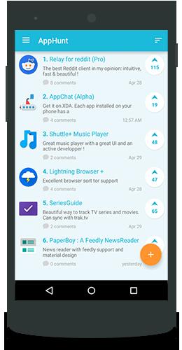 AppHunt - discover new apps v1 6 Apk | MODDED PRO APK | apk