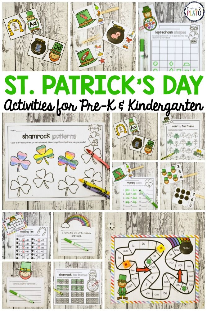 St. Patrick\'s Day Activities | Autism Activities for Ages 3-5 ...