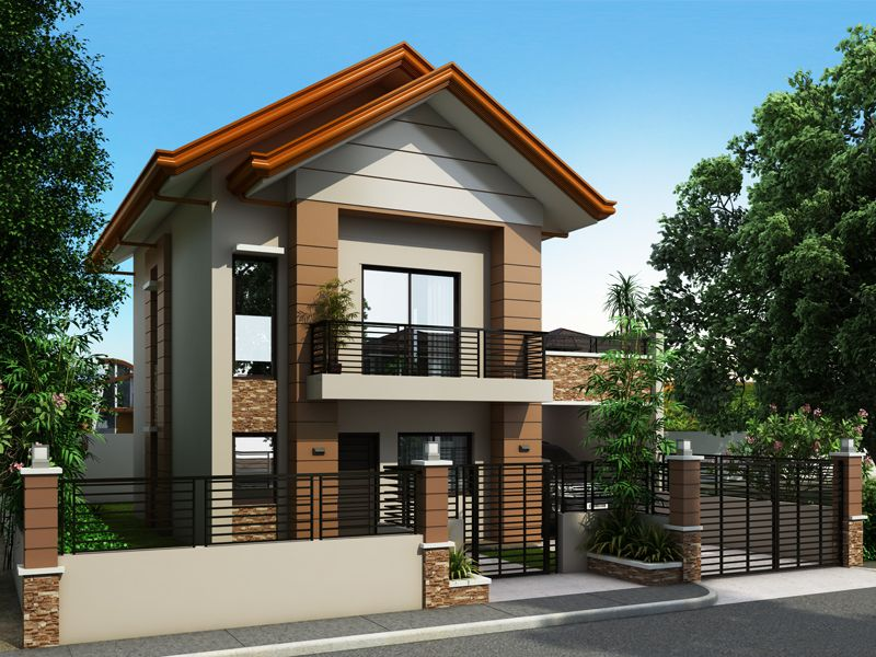 Simple House Design With Second Floor alberto is a two-storey house design that can be fitted in a not