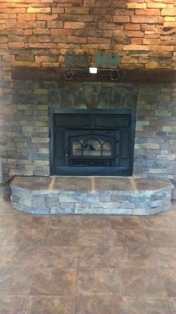 Jotul Insert In Prefab Fireplace Woodstove Installs