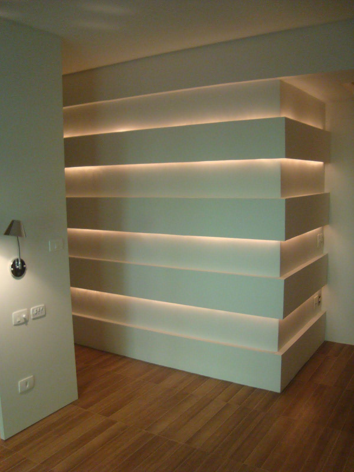 Indirekte Beleuchtung · Flur Läufer · Iluminação Indireta