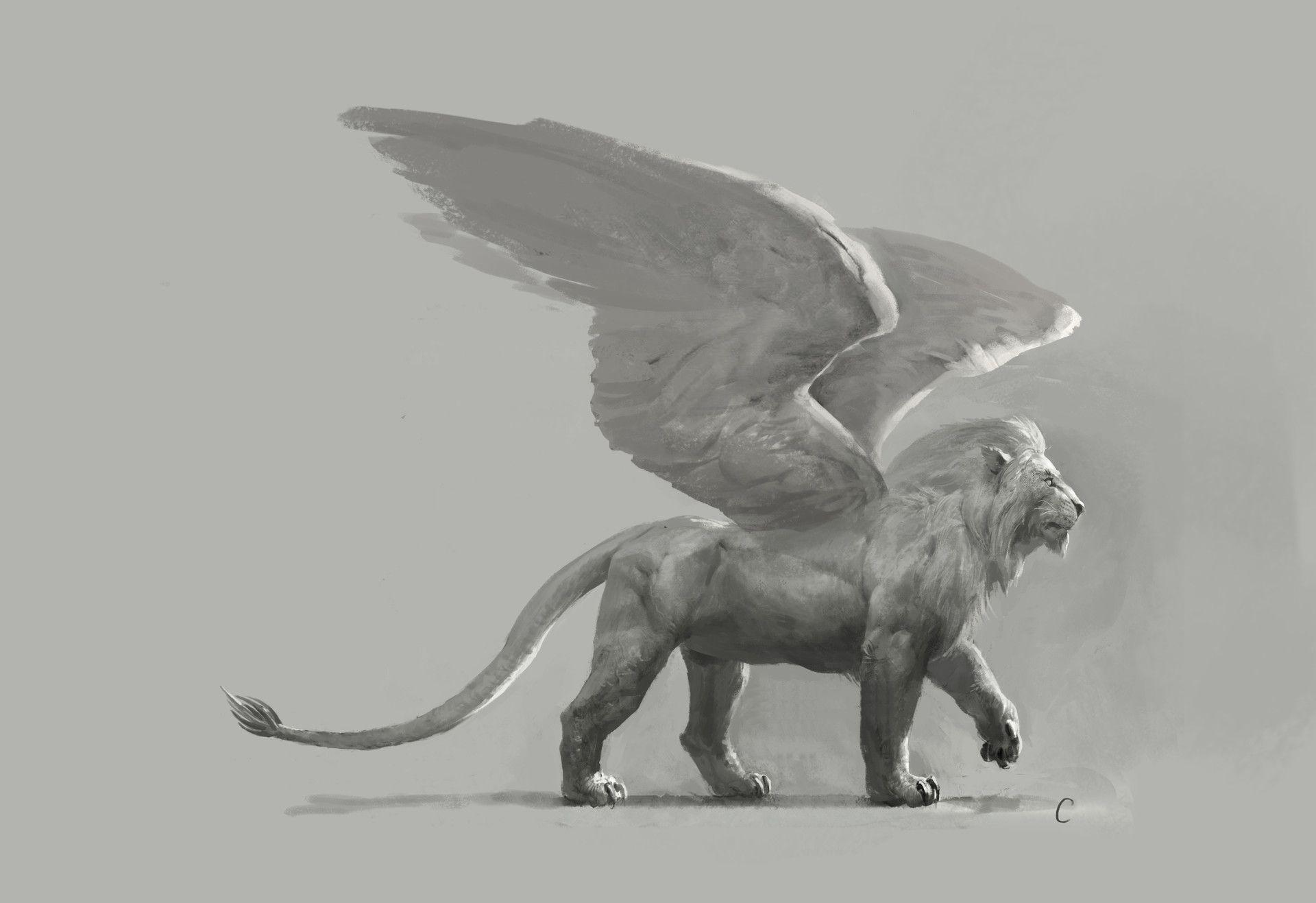 сейчас картинки львов с крыльями отличие остальных