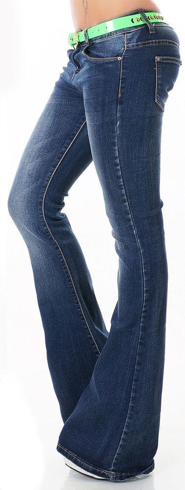 Dámské džíny do zvonu