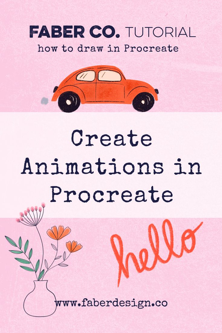 Learn how to create animations in Procreate in this free