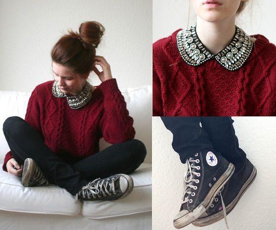 Cute converse collar comfort.