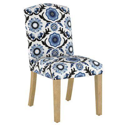 Wayfair Custom Upholstery Nadia Upholstered Parsons Chair Custom Upholstery Chair Upholstery Solid Wood Dining Chairs