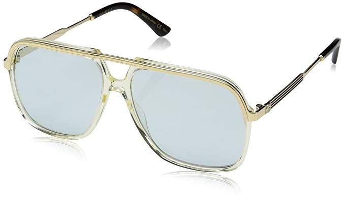 1f4cf30eef Gucci GG0200S GG 0200S Square Pilot Sunglasses Lens Category 3 Review