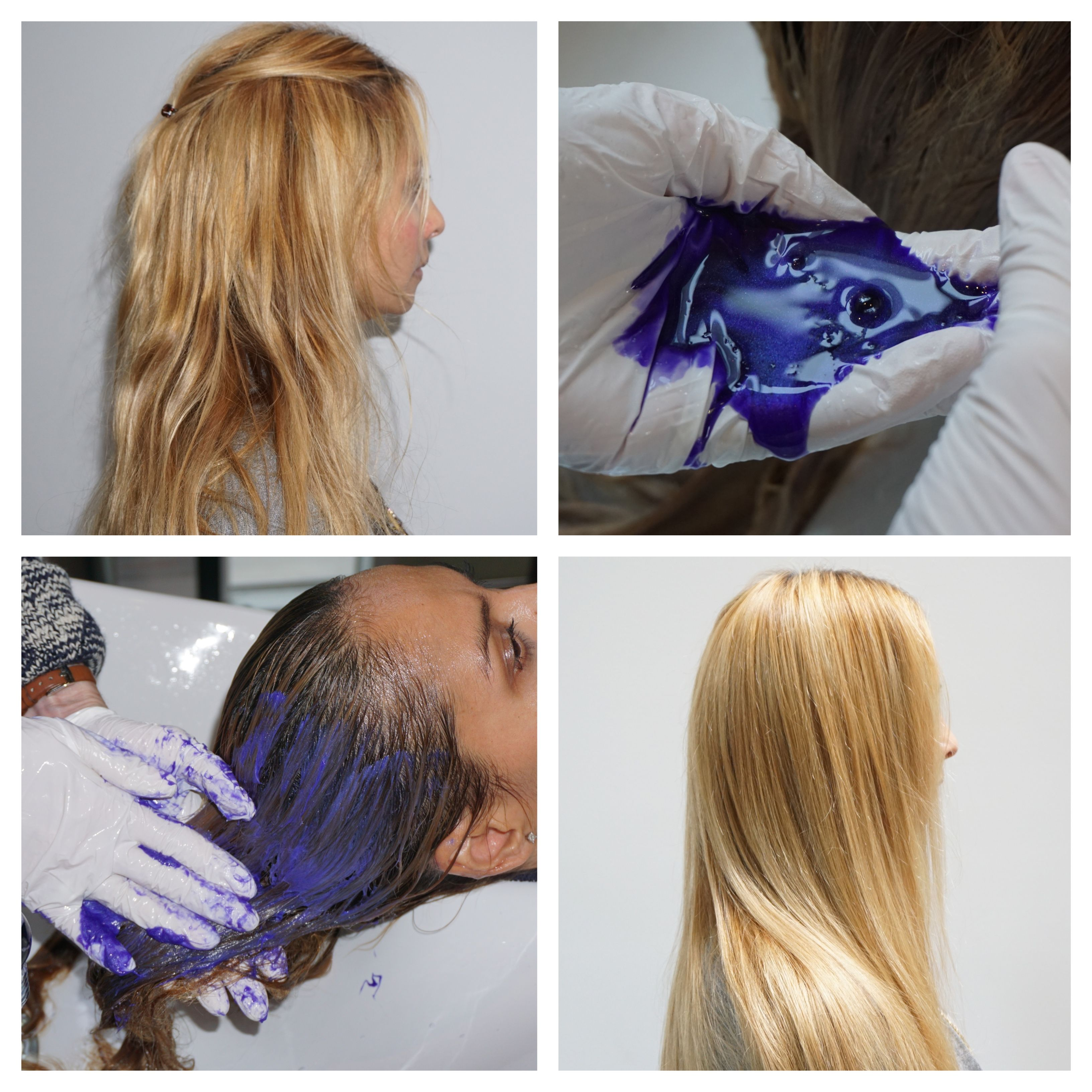 Keep Your Blonde Hair Looking Fresh Try Tinted Love Today This Professional Color Enhancing
