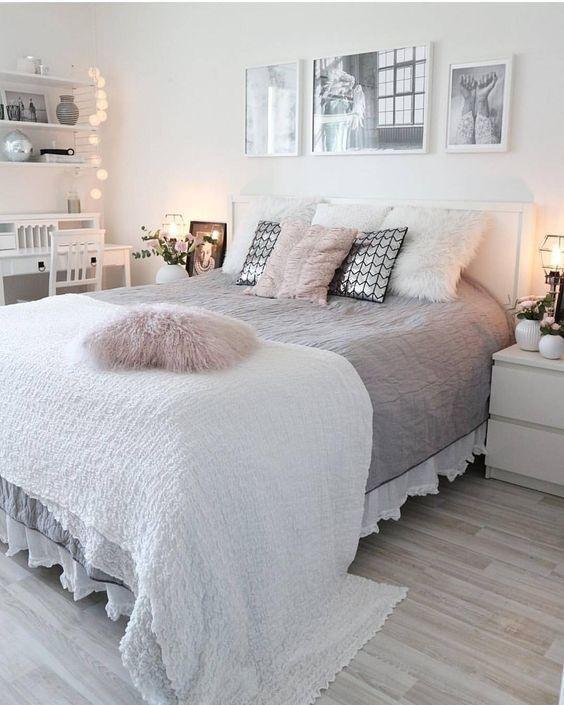 40+ gemütliche Deko-Ideen für die Schlafzimmer der Mädchen #gemutliche #idee... - #gemutliche #ideen #madchen #schlafzimmer - #Genel #smallbedroominspirations