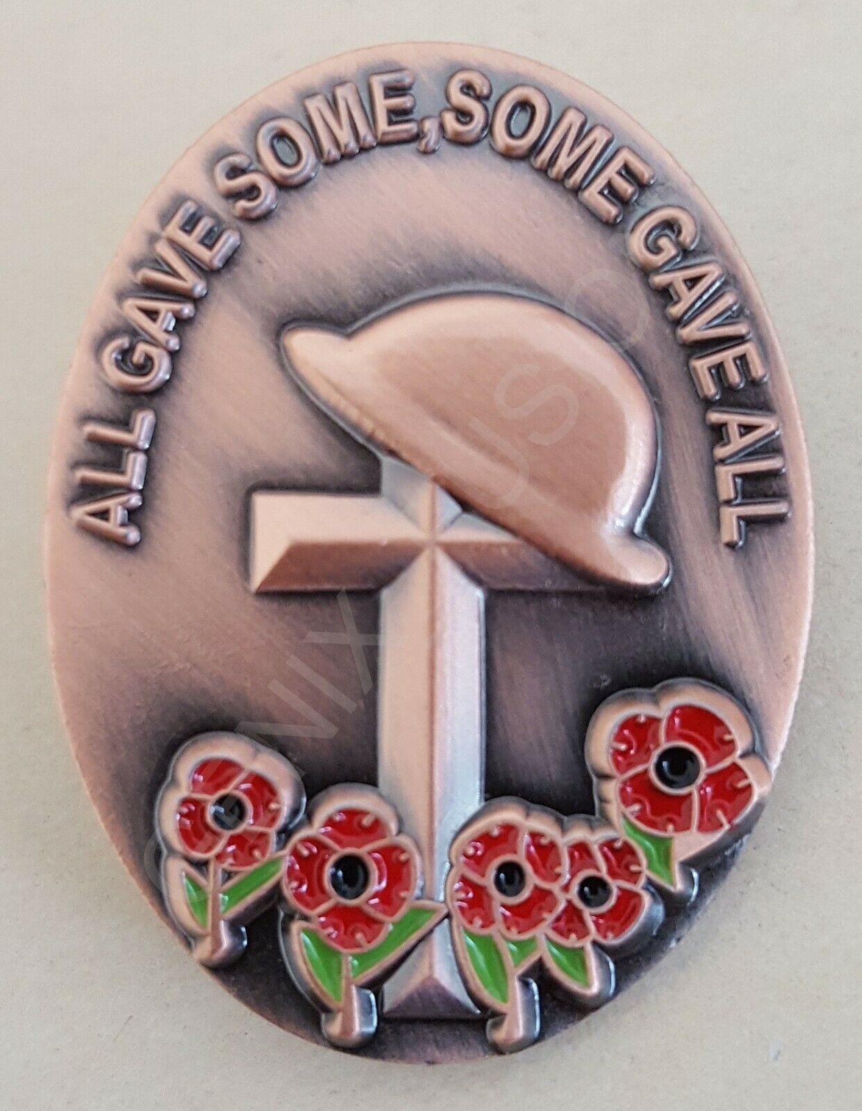 Details about Remembrance Day 2019 Poppy 3D Helmet Soldier