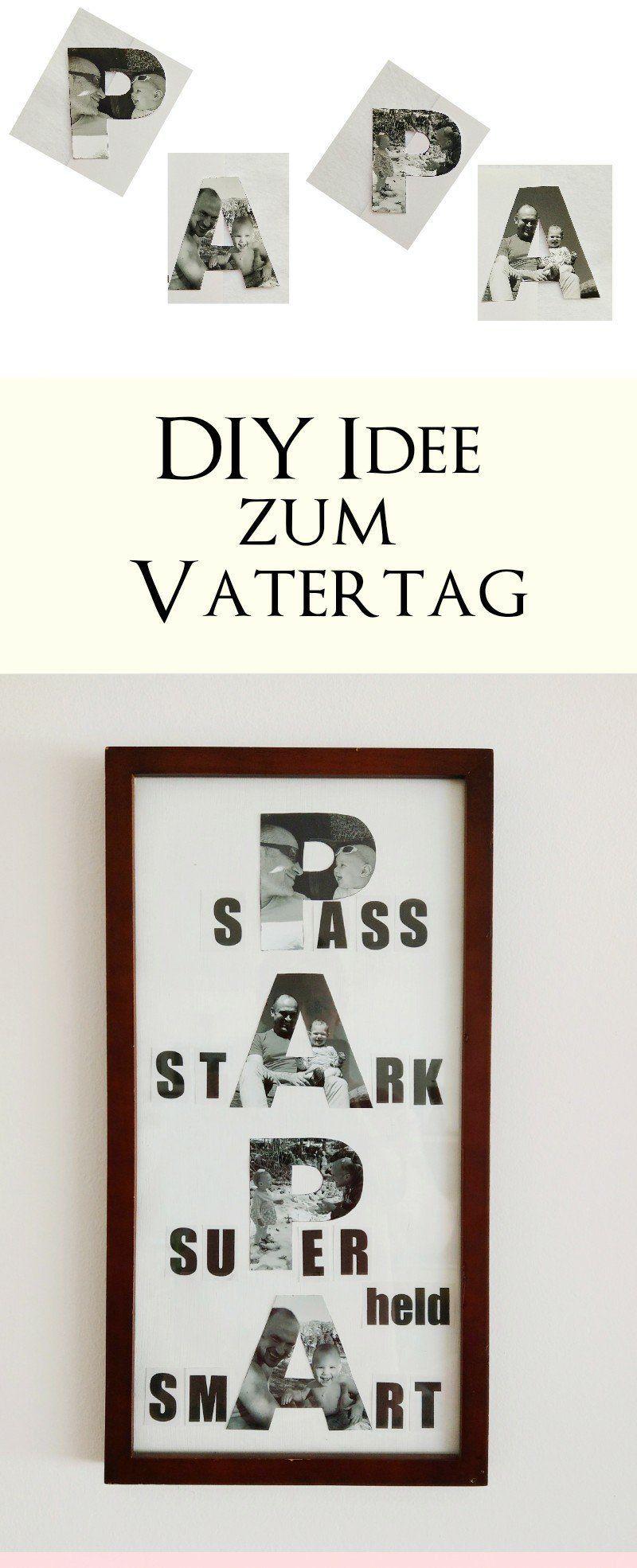 Photo of Bilder zum Muttertag und Vatertag basteln – 3 DIY-Ideen mit Anleitung zum selber machen