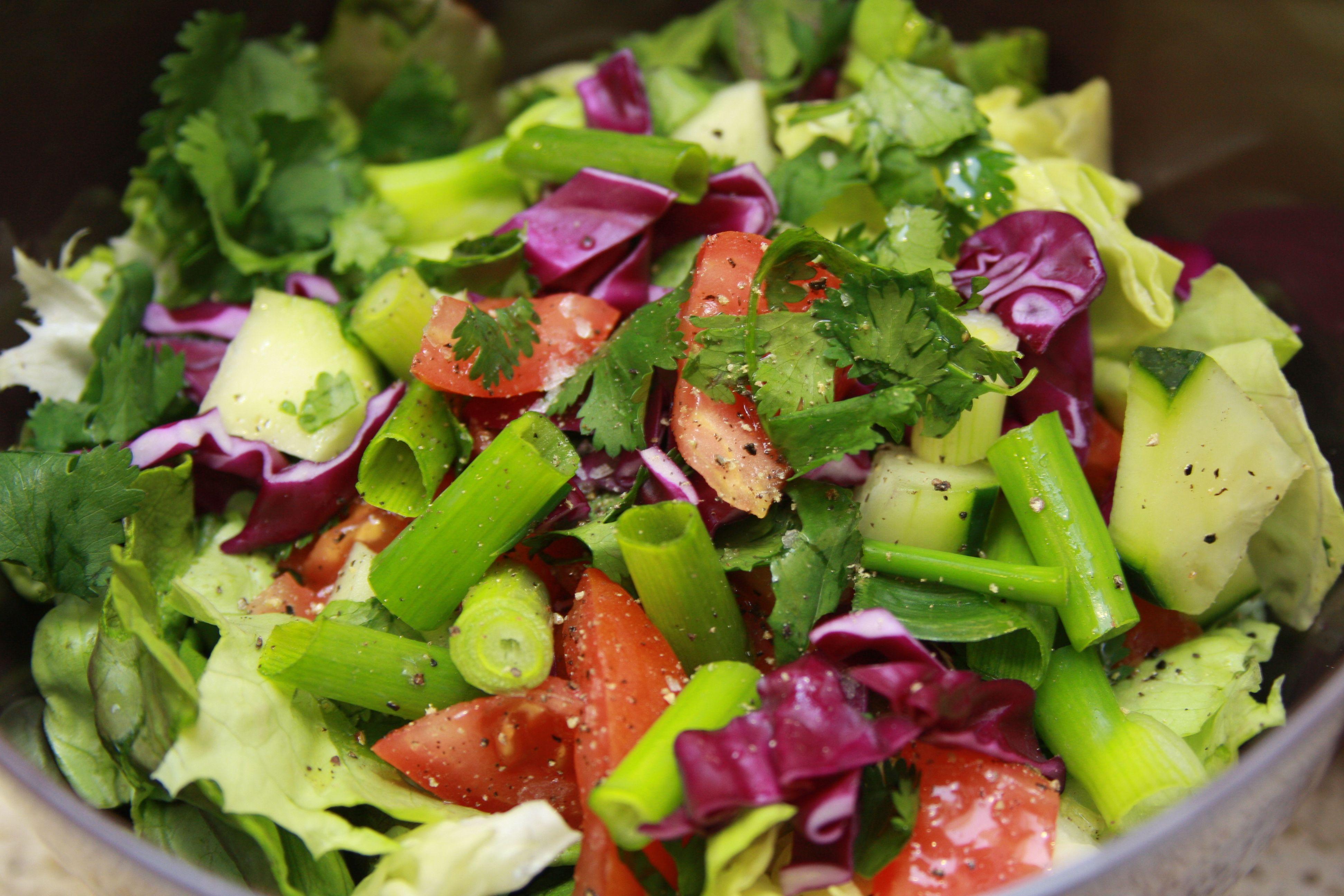 Зеленый Салат Для Диеты. Топ 12 самых вкусных диетических салатов для похудения