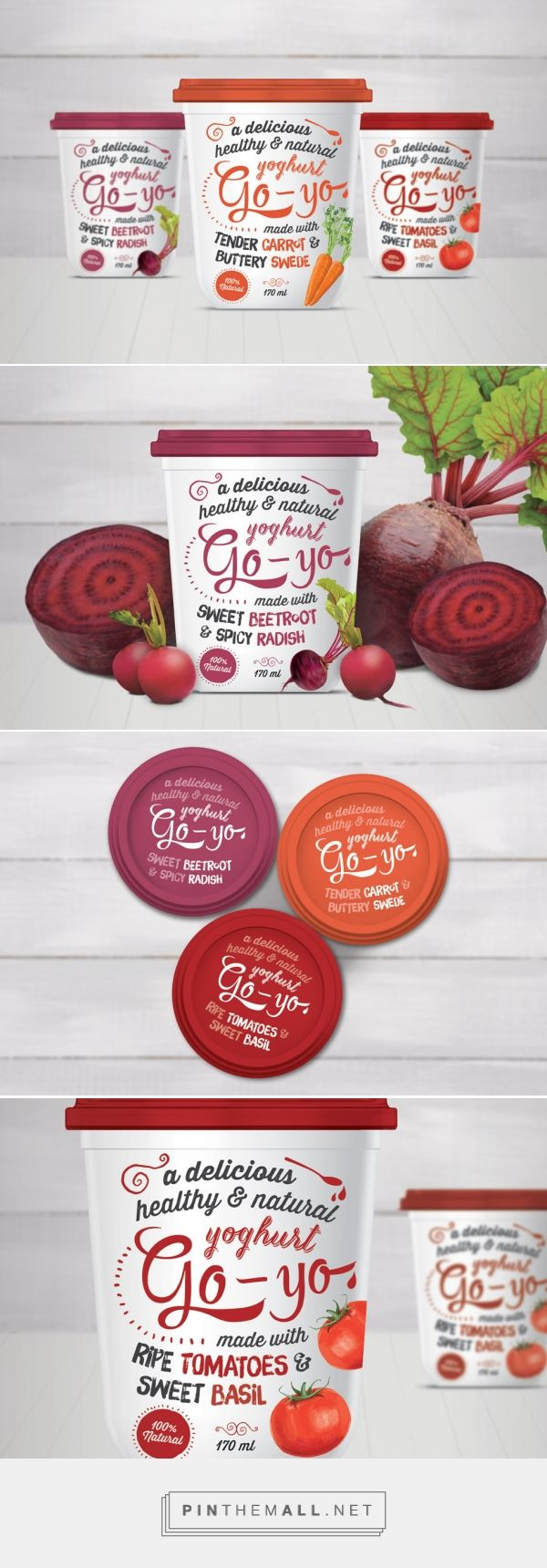 Go Yo Yoghurt By Lara Caiulo Source Behance Pin Curated By Sfields99 Packaging Design Inspiratio Yogurt Packaging Dairy Packaging Healthy Food Packaging