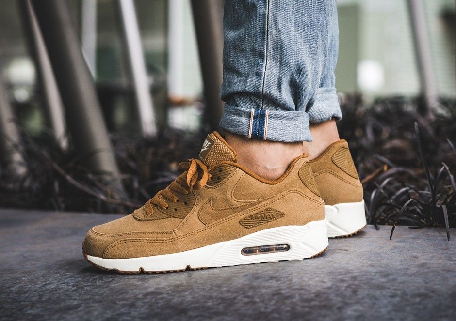 best service b8475 e57e1 Nike Air Max 90 Ultra 2.0 Wheat Flax   Release Date  Oct 14, 2017   Price    140   Style Code  924447-200    sneakers  shoes  gymshoes  sneakers  nike  ...