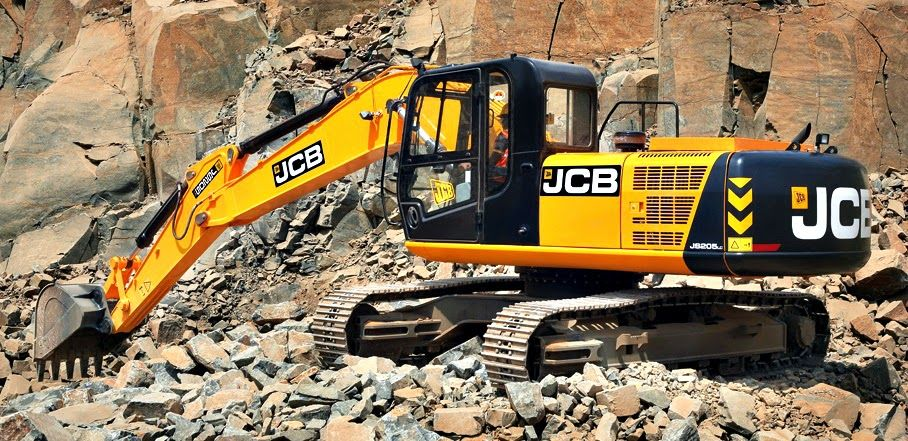 Heavy Machinery Online JCB and CAN's Long Reach Excavator