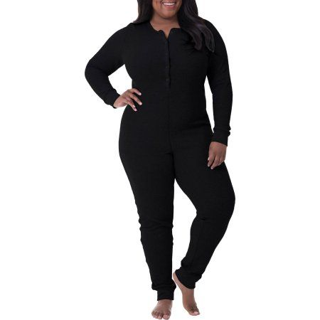 Plus Size Fit for Me by Fruit of the Loom Women's Plus Waffle ...