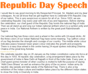 introduction speech on republic day