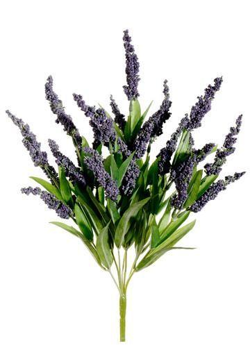 Silk lavender bush in purple 175 floral design wreaths and silk lavender bushes purple artificial flowers at afloral mightylinksfo