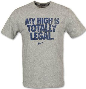 my high is totally legal running tee | Running tees, Workout