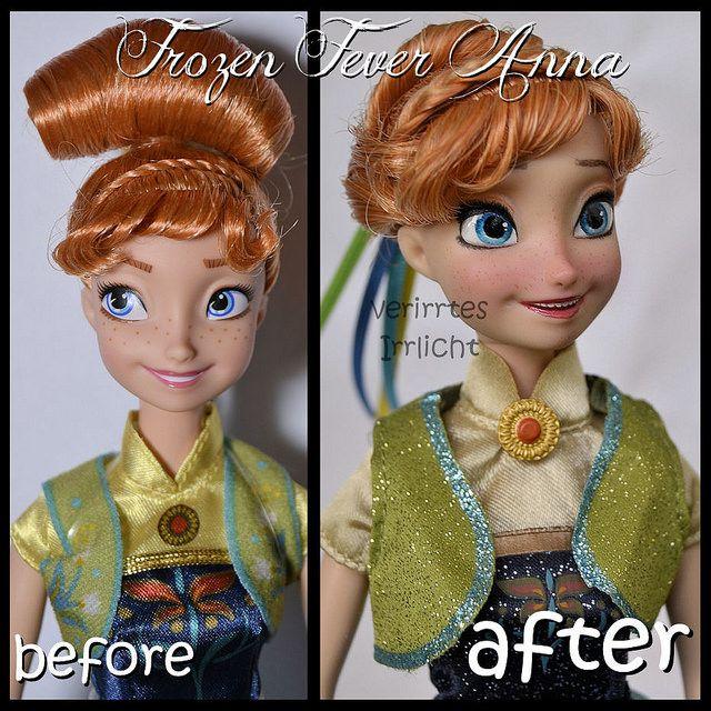 anna barbie mattel