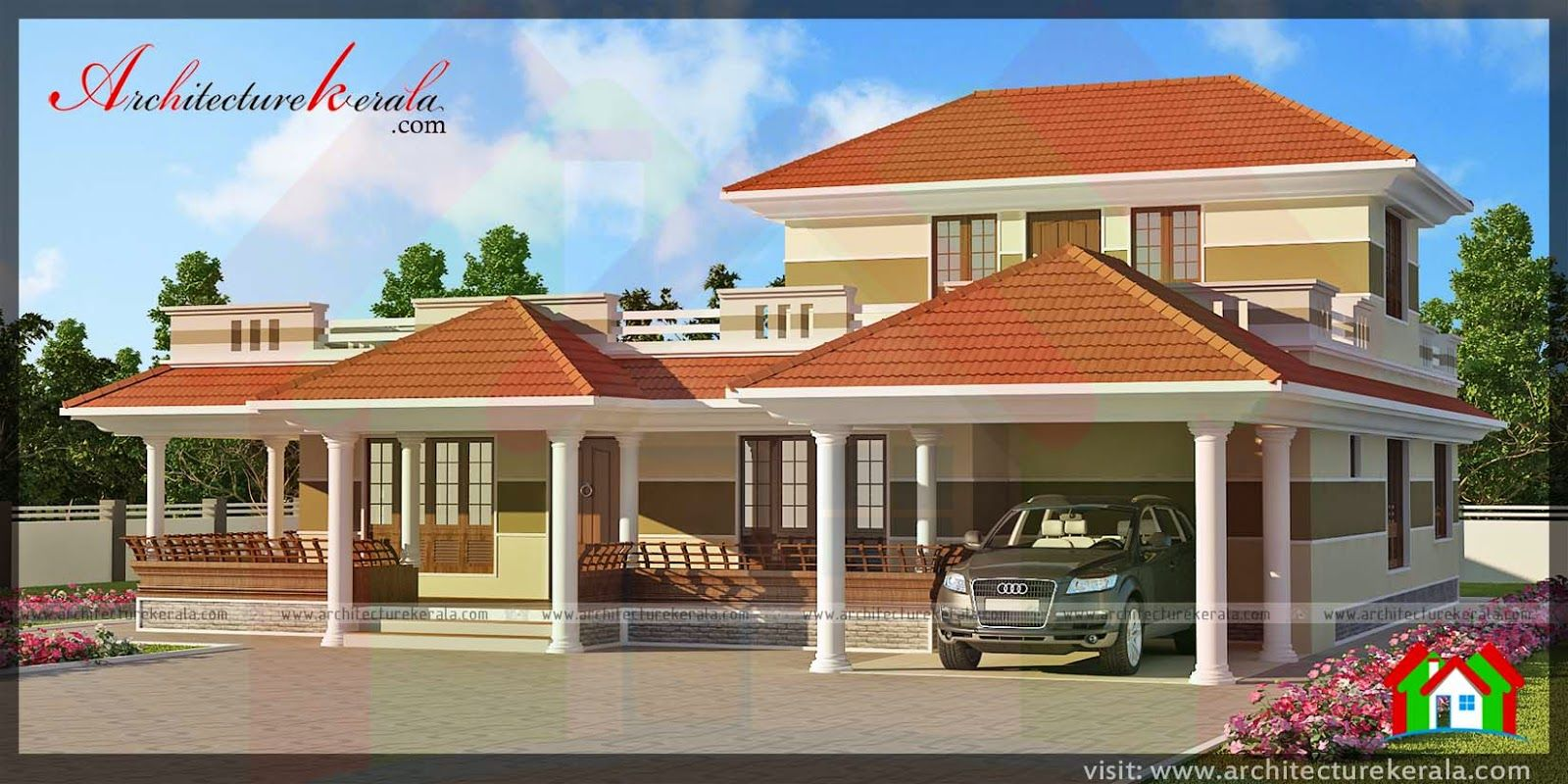 Home interior ideas kerala architecture kerala traditional style house sqft home design designs