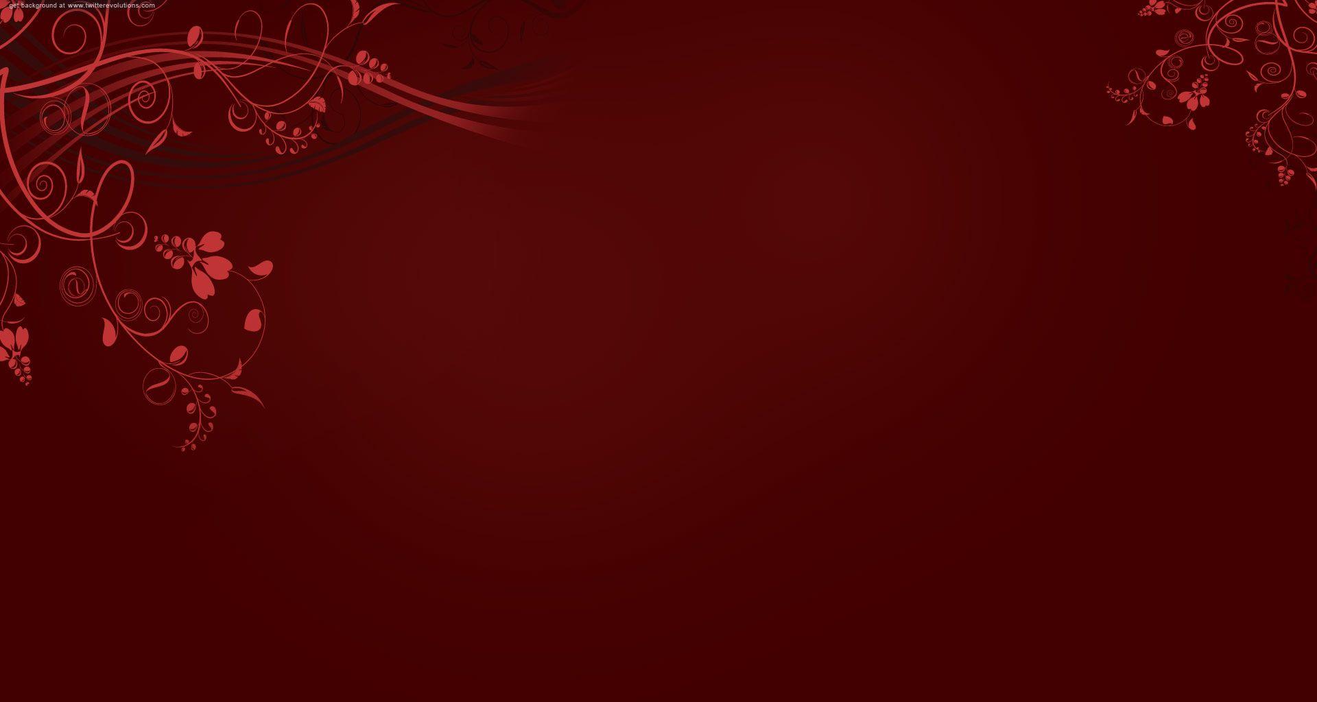 Web Design Backgrounds Red swirls twitter background
