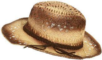 b86c5f42673 ShopStyle  WetSeal Ombre Straw Cowboy Hat Tan