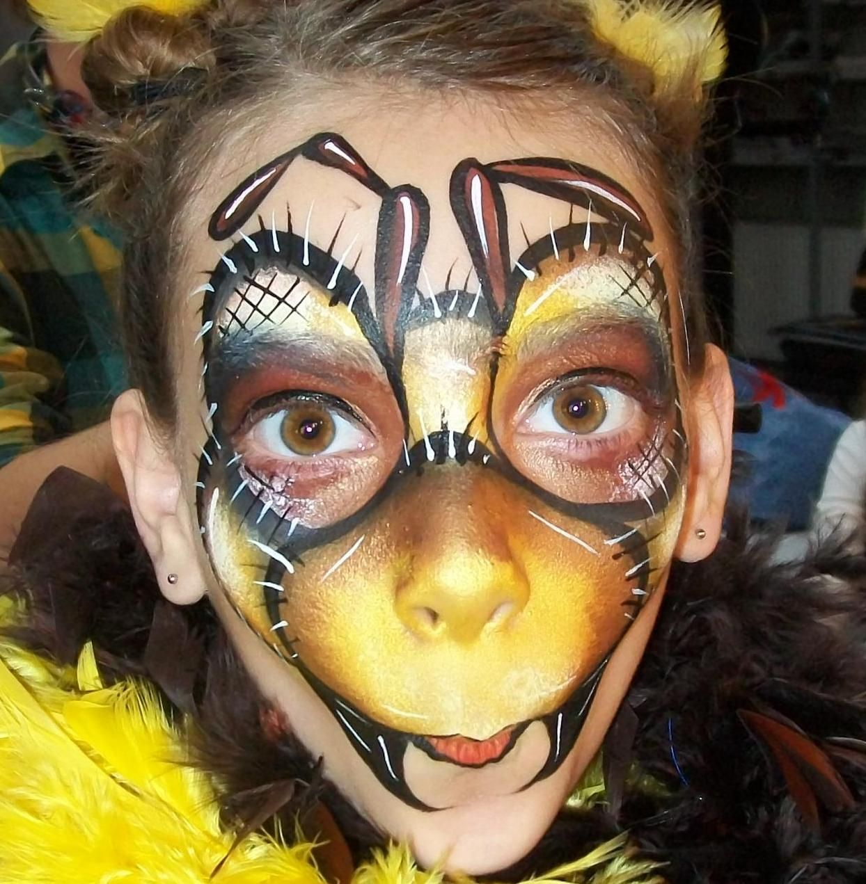 Face Paint Supplies Adelaide Michelle Triepels An Awesome Ant Face Painting Animal Face