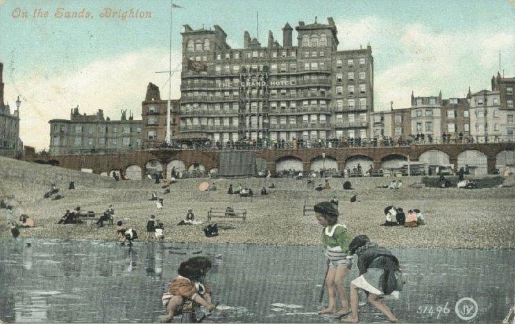 Grand Hotel, Kings Road, Brighton  1950s | Nostalgic Brighton in
