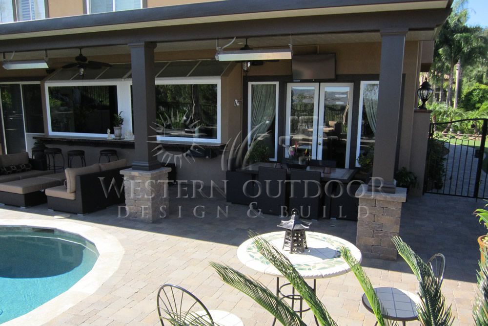 alumawood patio cover with pool google search backyard