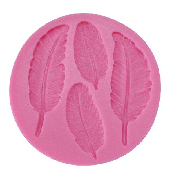 Pas cher livraison gratuite plume en forme savon moule en silicone p te de sucre 3d fondant - Moule a gateau pas cher ...