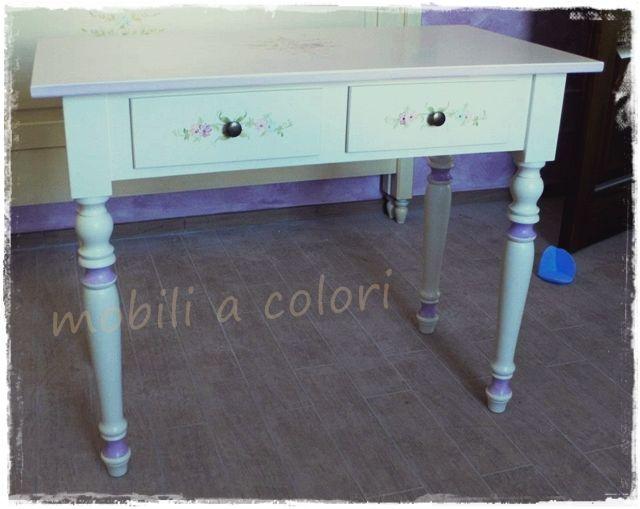 Pitturare Mobili ~ Acquista scrittoio country gambe tornite pitturare mobili