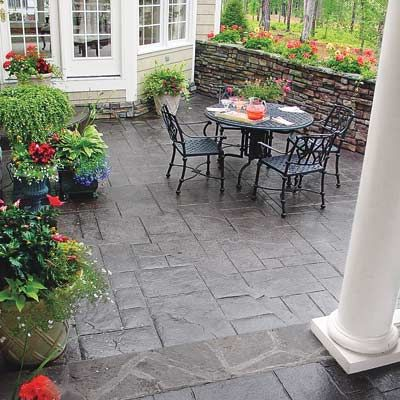 Exceptional Building Blocks For A Perfect Patio